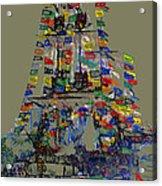 Jose Gaspar Ship Vertical Work Acrylic Print