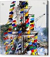 Jose Gasparilla Ship Work A Acrylic Print