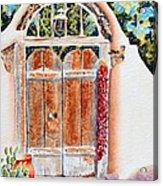 Josefina's Old Gate Acrylic Print