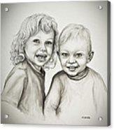 Joseph And Michael Acrylic Print