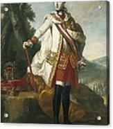 Joseph II  Of Habsburg 1741-1790 Acrylic Print