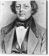 Joseph Skoda (1805-1881) Acrylic Print