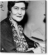 Josephine Roche (1886-1976) Acrylic Print