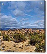 Joshua Tree National Park Indian Cove Rocks Acrylic Print
