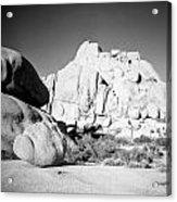 Joshua Tree Rock Formation Acrylic Print