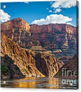 Journey Through The Grand Canyon Acrylic Print