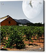 Journey Through The Valley Of The Moon 5d24485 Square Acrylic Print by Wingsdomain Art and Photography