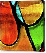Joy-abstract Acrylic Print by Shevon Johnson