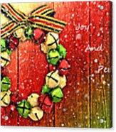 Joy And Peace Acrylic Print