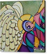 Joy Acrylic Print by Deborah Glasgow