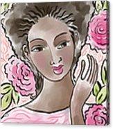 Joy In Flowers Acrylic Print