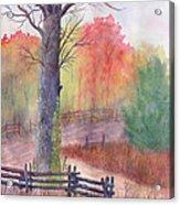 Joy of Fall Acrylic Print
