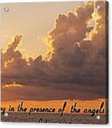 Joy Of The Angels Acrylic Print