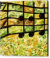 Joyful - Lemon Lime Acrylic Print