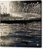 Joyful Sunny Splashes Acrylic Print
