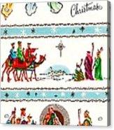 Joyous Christmas Acrylic Print