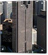 Jp Morgan Chase Tower Dallas Acrylic Print