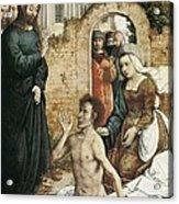 Juan De Flandes  -1519. The Acrylic Print