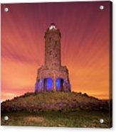 Jubilee Tower At Night Acrylic Print