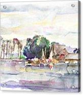 Juergenshof After Sunset Acrylic Print
