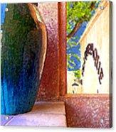 Jug And Window Acrylic Print