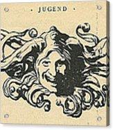 Jugend Jester Acrylic Print