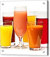 Juices Acrylic Print