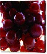 Juicy Grapes Acrylic Print