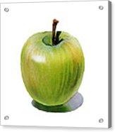 Juicy Green Apple Acrylic Print
