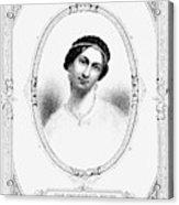 Julia Tyler (1820-1869) Acrylic Print