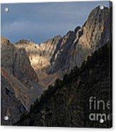 Julian Peaks - Sunburst Acrylic Print