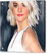 Julianne Hough Acrylic Print