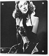 Julie London, 1950 Acrylic Print