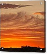 July 4th Sunset Acrylic Print