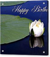 July Birthday Acrylic Print