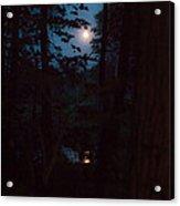 July Moon Acrylic Print