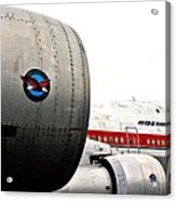 Jumbo Jet Acrylic Print