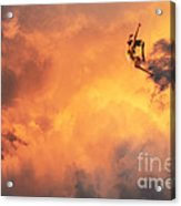 'jump Into The Fire' Acrylic Print