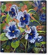 June In The Garden Acrylic Print