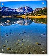 June Lake California Acrylic Print by Scott McGuire