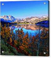 June Lake California Sunrise Acrylic Print