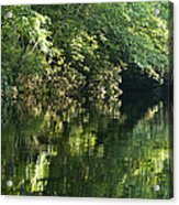 June Morning On The Pawcatuck Acrylic Print