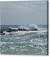June Surf Acrylic Print