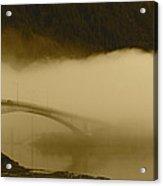 Juneau - Douglas Bridge Acrylic Print