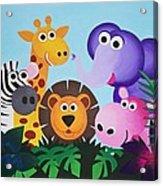 Jungle Acrylic Print by Bav Patel