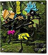 Jungle Dancers Acrylic Print