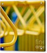 Jungle Gym At Playground Shallow Dof Acrylic Print