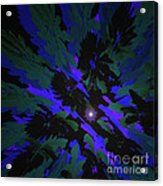 Jungle Night Sky By Jammer Acrylic Print