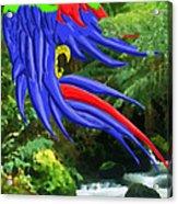 Jungle Quaker Acrylic Print by John Kreiter