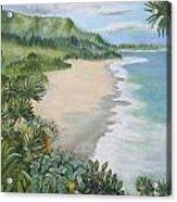 Jungle Waves Acrylic Print